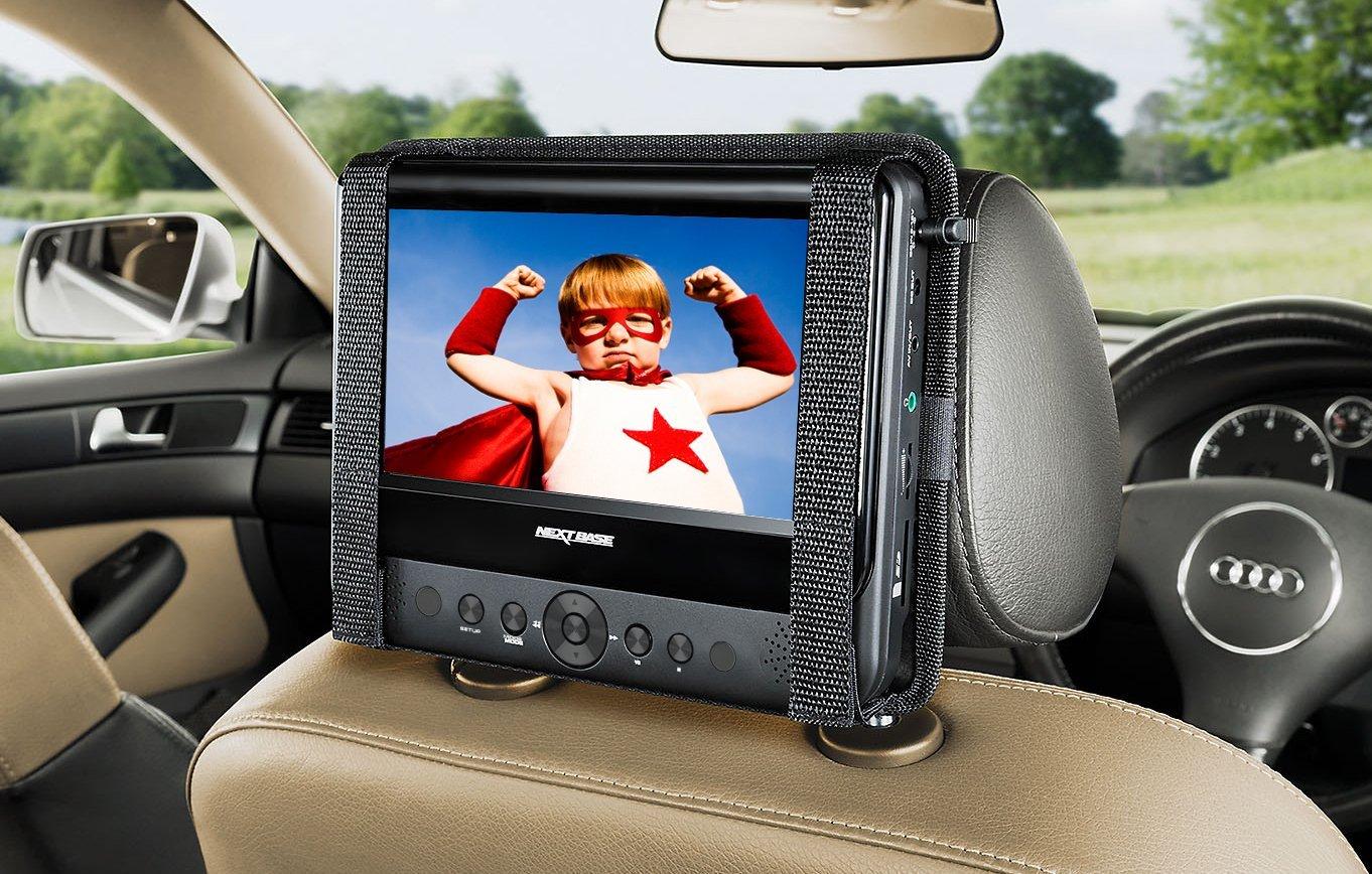 lecteur dvd voiture appui tete