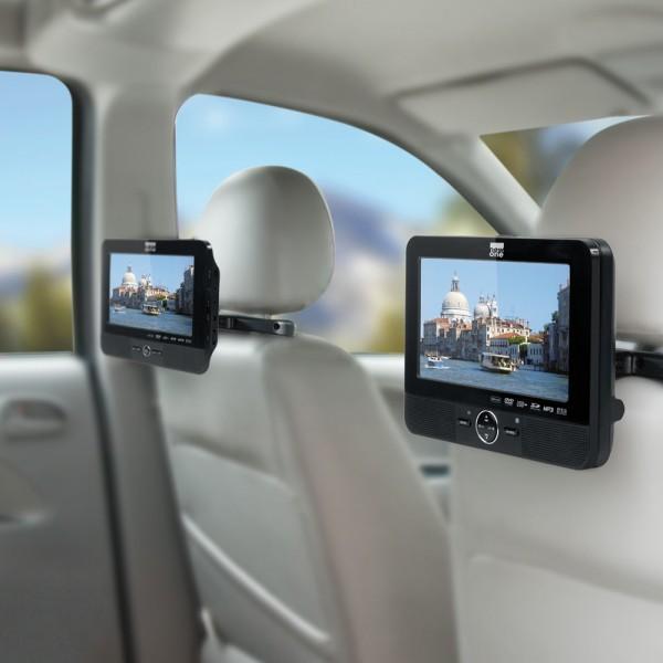 lecteur dvd double écran voiture