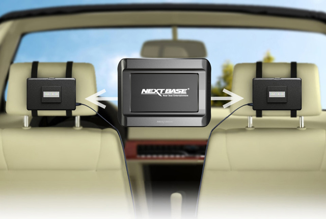 lecteur dvd voiture central